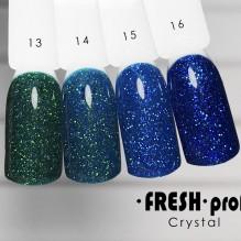 "Гель-лак Fresh prof ""Crystal"" 13"
