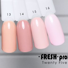 Гель-лак Twenty five 01 Fresh Prof TF13