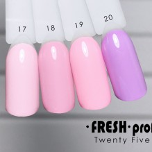 Гель-лак Twenty five 01 Fresh Prof TF17