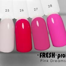 Гель-лак Fresh Prof Pink P25