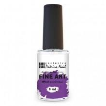 Акварельные капли FINE ART №A4 фиолетовый, 8 мл