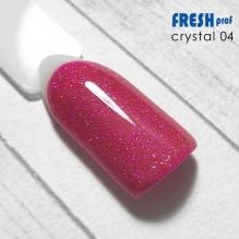 "Гель-лак Fresh prof ""Crystal"" 04"