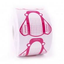 Одноразовые овальные формы розовые 500 шт