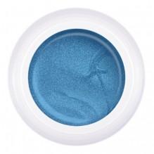 Гель-краска Паутинка №S7 голубой металлик, 5 гр