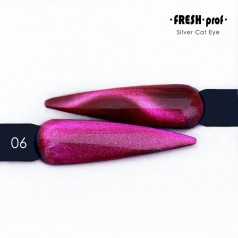 Гель-лак Fresh prof Silver cat eye 06